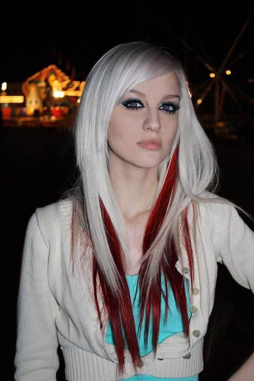 Blonde With Underdye Red The Latest Trends In Women S