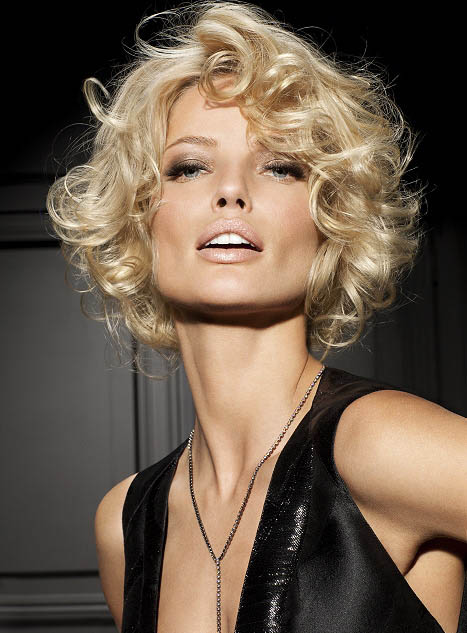Short Curly Bob Hairstyle - The latest trends in women\'s ...