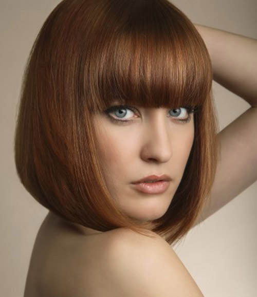 Red Layered Bob Hairstyle The Latest Trends In Women S