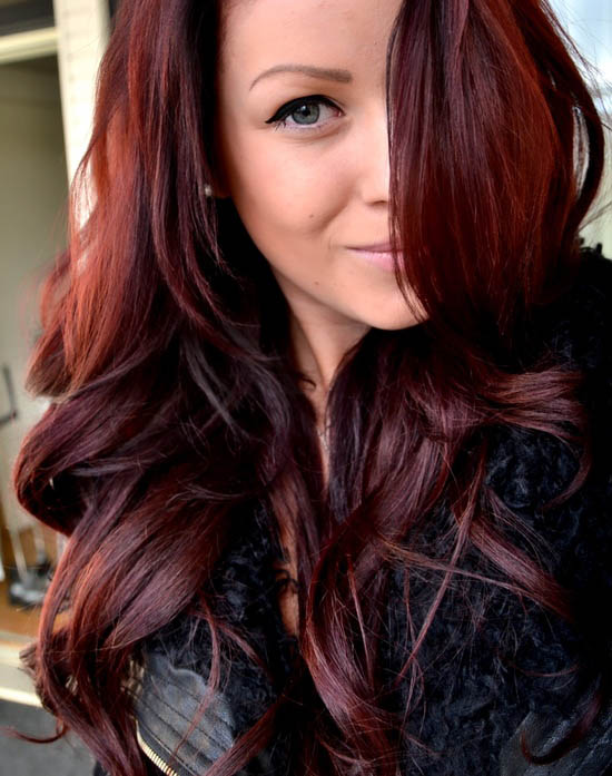 Reddish Brown The latest trends in women's hairstyles and beauty