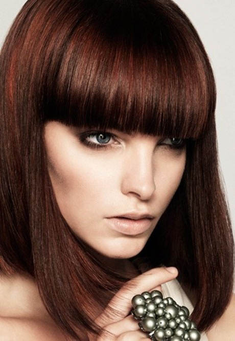 Mahogany Red The Latest Trends In Women S Hairstyles And