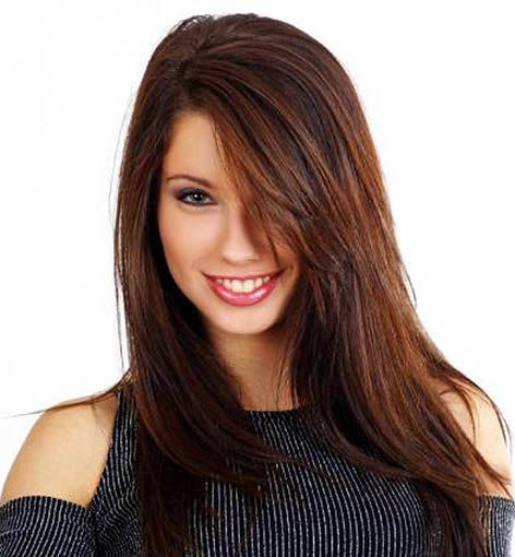 how to make dark brown hair lighter at home