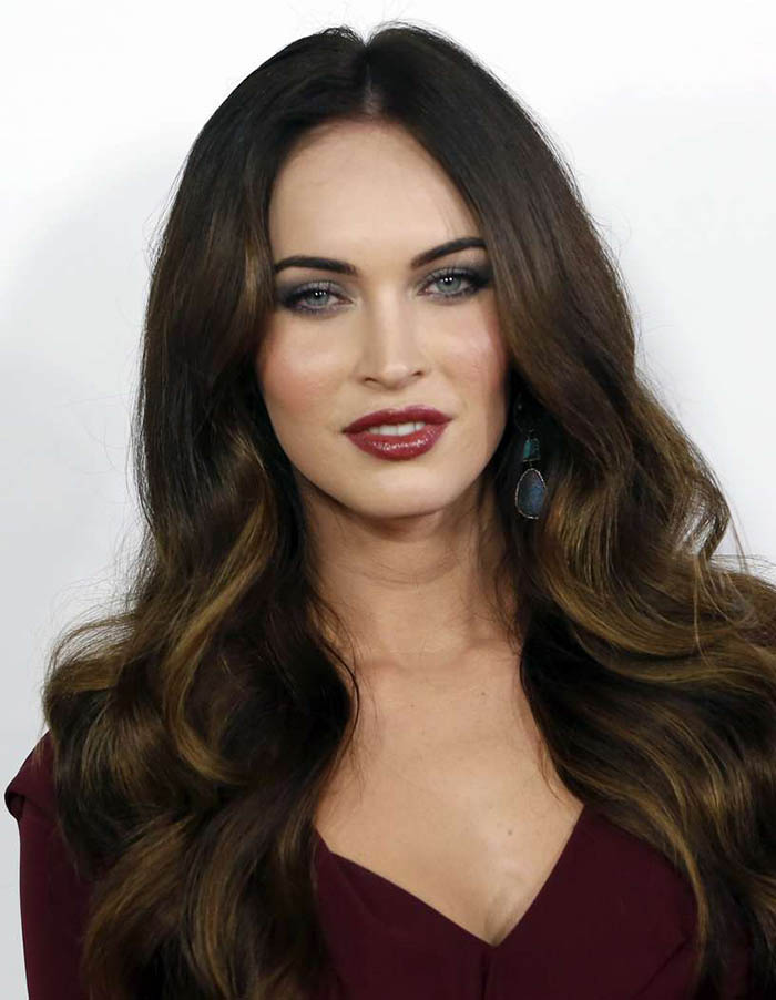 Megan Fox Hair With Highlights The Latest Trends In Womens