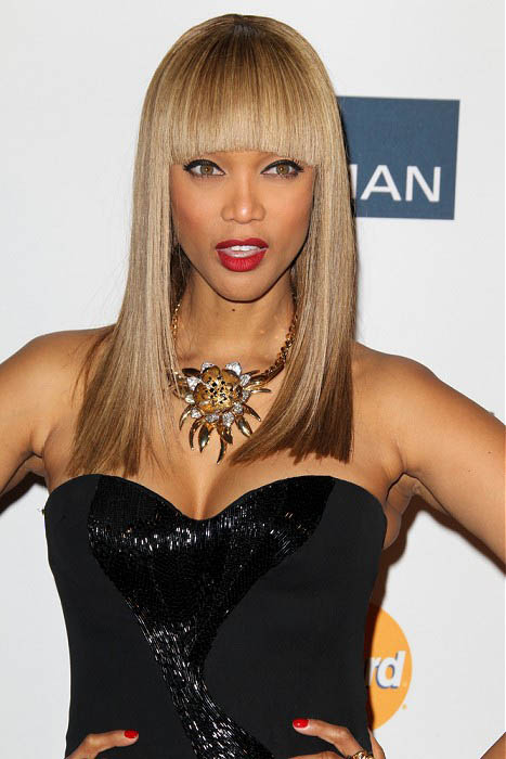 Tyra Banks Straight Hairstyle The Latest Trends In Women