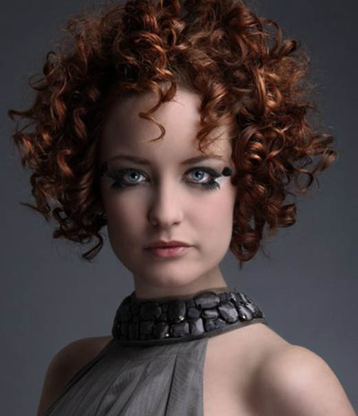 Short Spiral Perm - The latest trends in women's hairstyles and beauty