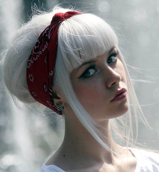 Pure White Hair The Latest Trends In Women S Hairstyles And Beauty