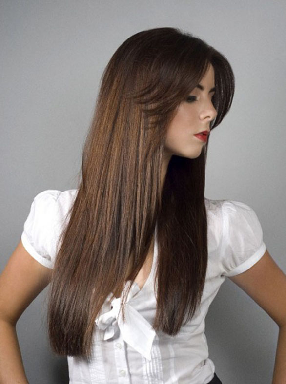 New Hairstyles For Long Straight Hair : Layered hairstyles for straight hair