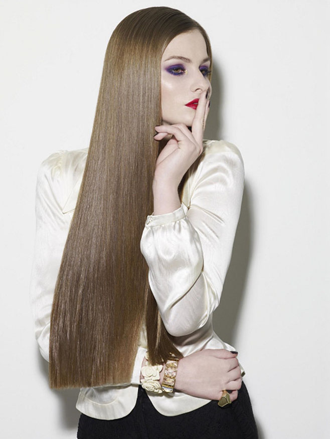 Thick Straight Long Hairstyle The Latest Trends In Women