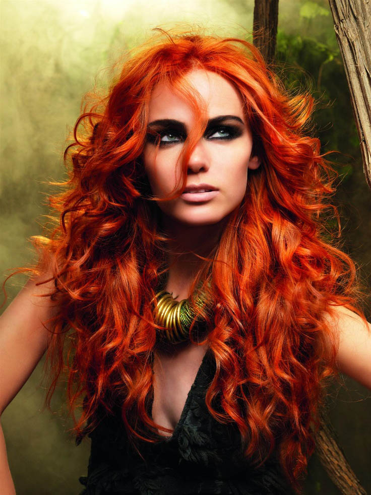 Bright Red Hair The Latest Trends In Women S Hairstyles