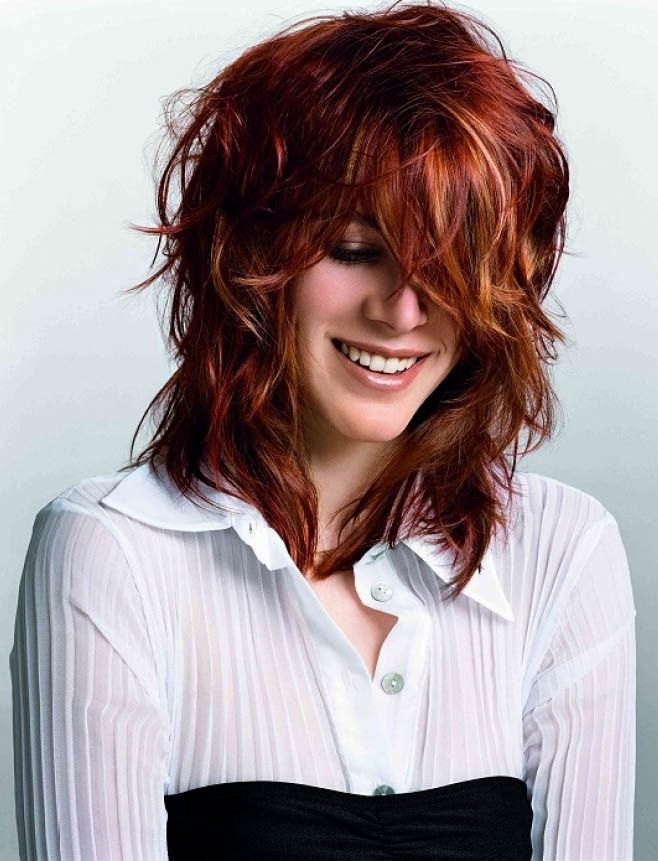 Red Hair Blonde Highlights The Latest Trends In Womens Hairstyles