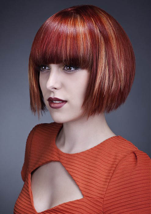 Red Hair Orange Blonde Highlights - The latest trends in women's ...