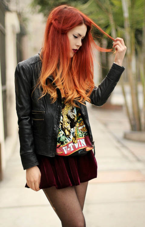 Red Ombre Hair Dye Share Tweet Share Red Ombre Hair | Dark Brown Hairs