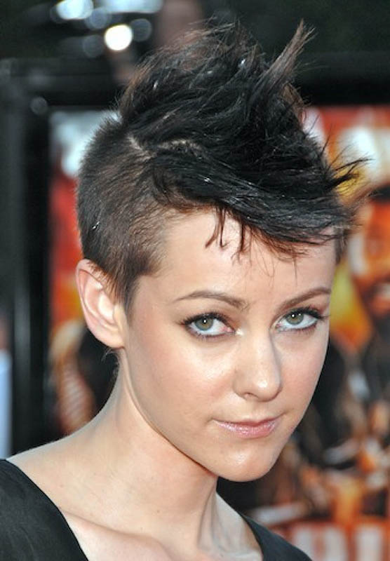 Short Cute Mohawk The latest trends in women s hairstyles and beauty