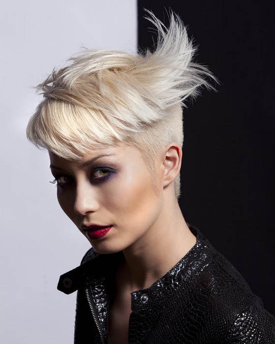 Short Hair Shaved Sides The Latest Trends In Women S Hairstyles