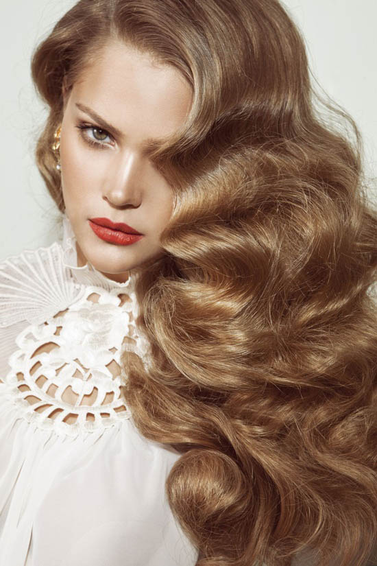 Long Hair Finger Waves - The latest trends in women's hairstyles and beauty