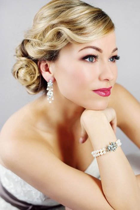 Vintage Wedding Updo Hairstyle The Latest Trends In Womens