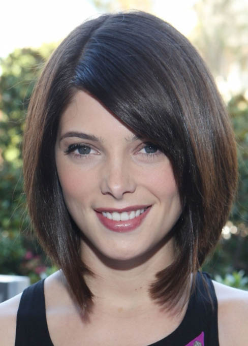 Bob Without Bangs - The latest trends in women's hairstyles and beauty