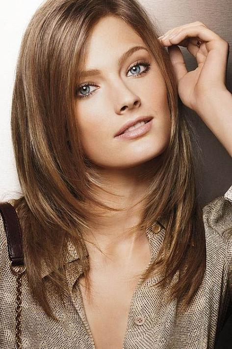 Golden Brown - The latest trends in women's hairstyles and beauty
