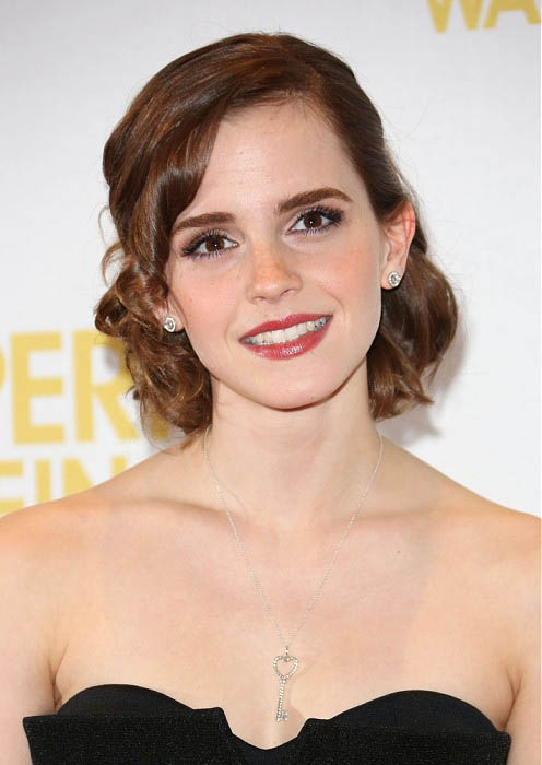 Emma Watson Formal Hairstyle
