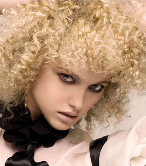 Frizzy Spiral Perm - The latest trends in women's hairstyles and ...