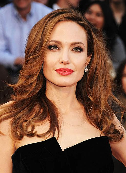 Angelina Jolie Layered Hair The Latest Trends In Women S