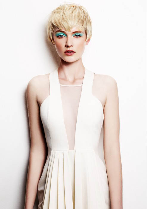 Pushed Forward Short Hair The Latest Trends In Women S