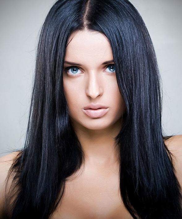 Long Thick Parted Hair The Latest Trends In Women S