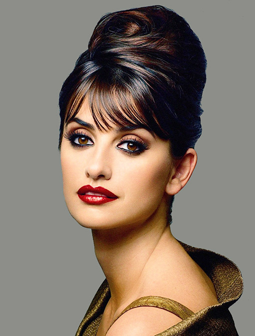 Penelope Cruz Behive Updo The Latest Trends In Women S