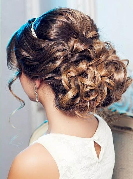Bridal French Chignon