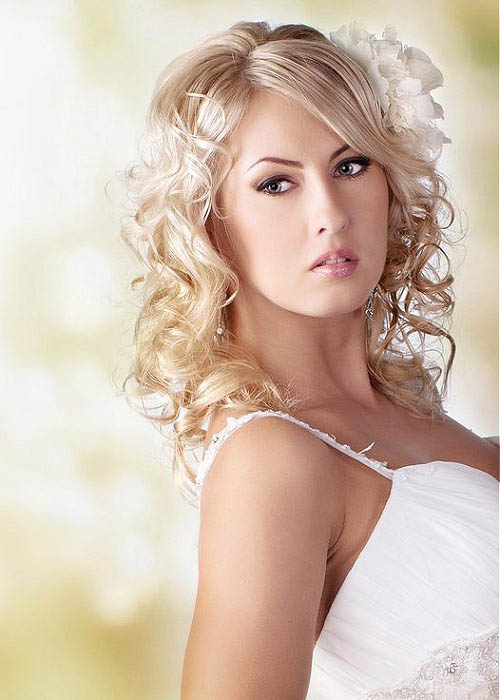 Body Wave Wedding Hairstyle - The latest trends in women's hairstyles ...