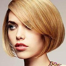Blonde Bob Hairstyle Highlights