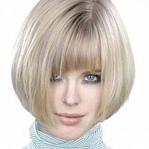 Bob Hairstyle Asymmetric Bangs
