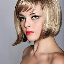 Bob Hairstyle Swept Bangs