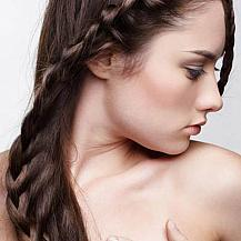 Diagonal Crown Braided Hairstyle