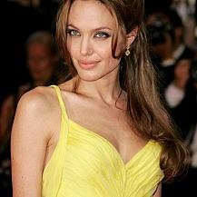 Angelina Jolie Awards Hairstyle