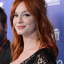 Christina Hendricks Bouffant