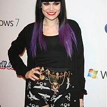 Jessie J Hairstyle Dyed Hair