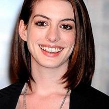 Anne Hathaway Medium Bob