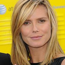 Heidi Klum Shoulder Length Hair
