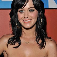 Katy Perry Casual Hairstyle