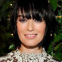 Lena Headey Choppy Layered Hairstyle