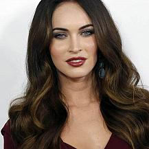 Megan Fox Hair With Highlights