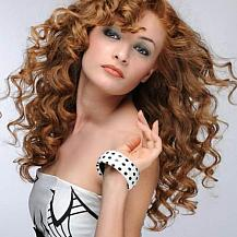 Glamorous Red Curly Hair