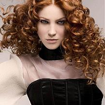 Long Hair Red Ringlets