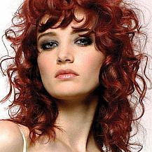 Red Curly Hairstyle