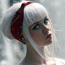 Pure White Hair