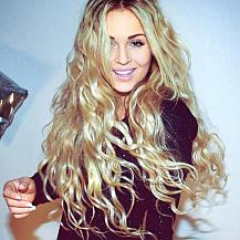 Golden Blonde Hairstyle