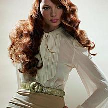 Red Long Hairstyle Bodywave