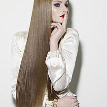 Thick Straight Long Hairstyle