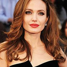 Angelina Jolie Layered Hair